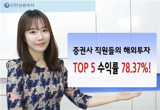 신한금투, 직원 수익률 대회…1위 107%↑