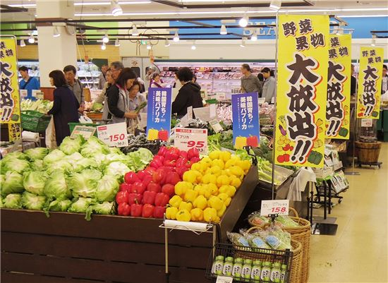 농협경제지주 계열사 NH무역은 10일까지 일본 최대 생활협동조합 'COOP삿포로' 매장에서 한국산 고품질 파프리카 특판행사를 연다.