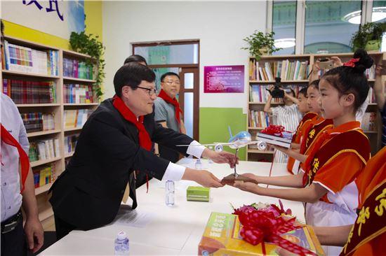 대한항공, 中소학교에 '꿈의 도서실' 선물