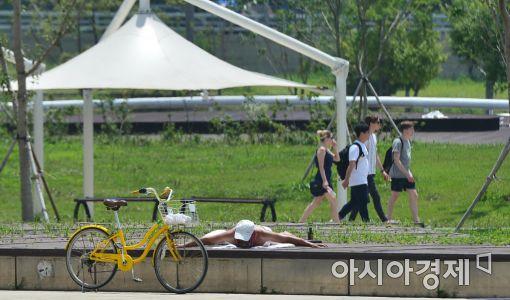 [포토]'도심 속 여름휴가'