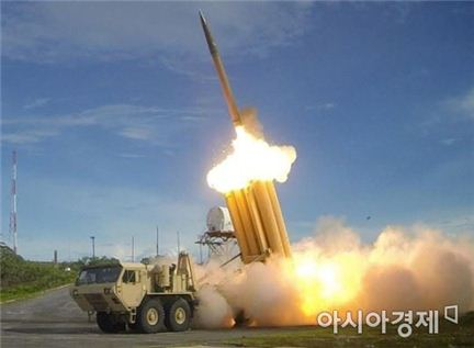 북한 스커드 미사일 발사 장면