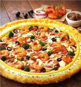 피자헛 '프렌치어니언쉬림프' 피자