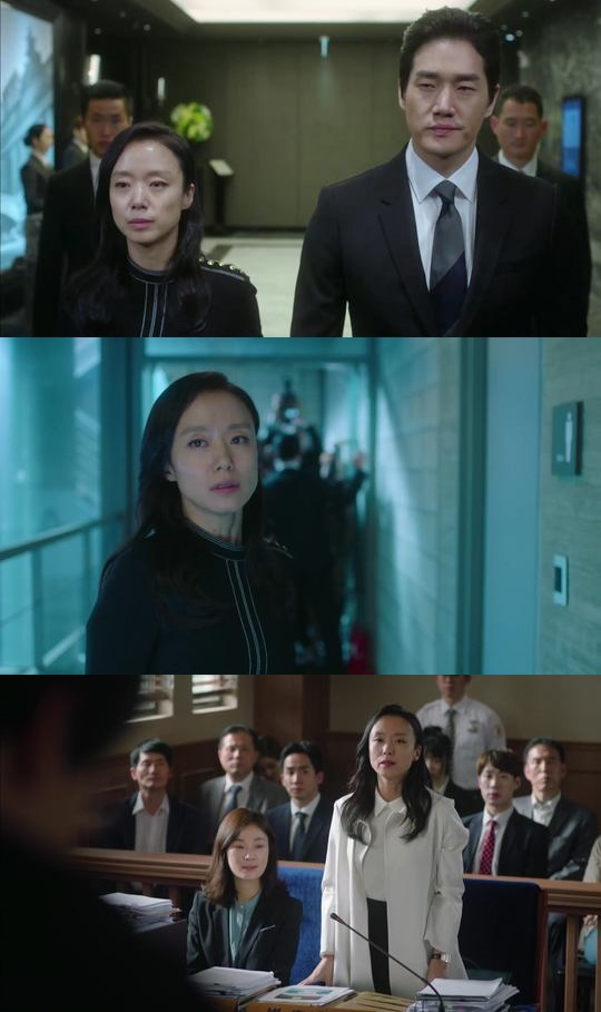 굿와이프. 사진=tvN 굿와이프 방송 캡쳐