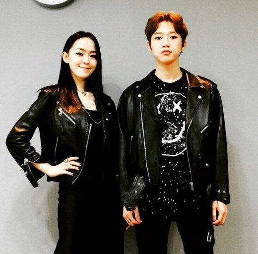 김윤아 채보훈. 사진=김윤아 인스타그램 캡쳐