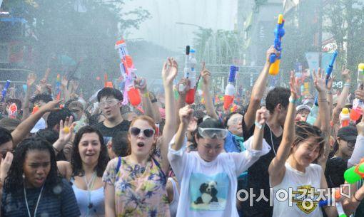 [포토]'신나는 물총축제'