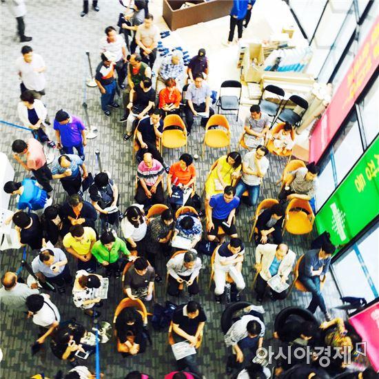 광주광역시 남구 월산동 201-10번지 자리할 월산동 한국 아델리움이 견본주택을 오픈 하고 본격적으로 조합원 모집에 나섰다.