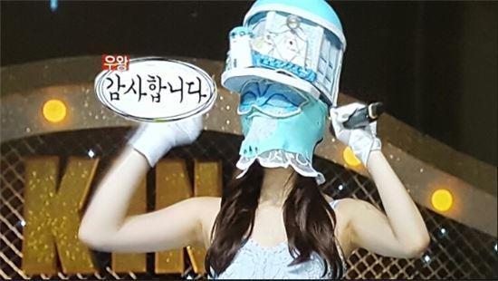 복면가왕 산토리니. 사진=MBC '복면가왕' 방송 화면 캡쳐