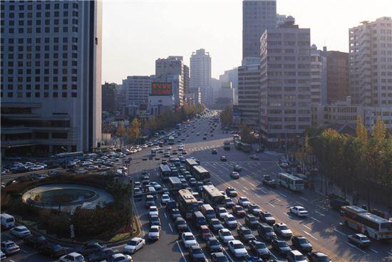 1995년 서울광장(서울시 제공)