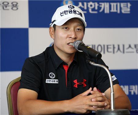 """김경태 """"태극마크 반납"""", 왕정훈 출전"""