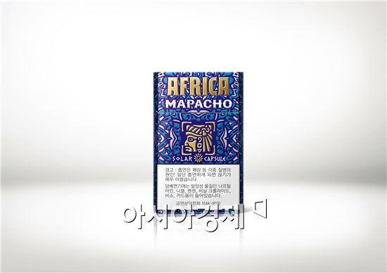 KT&G, 인류 최초의 담뱃잎 사용한 '아프리카 마파초' 출시