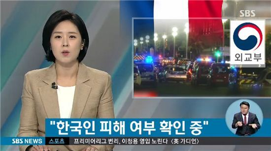 프랑스 니스테러 / 사진=SBS뉴스화면캡처