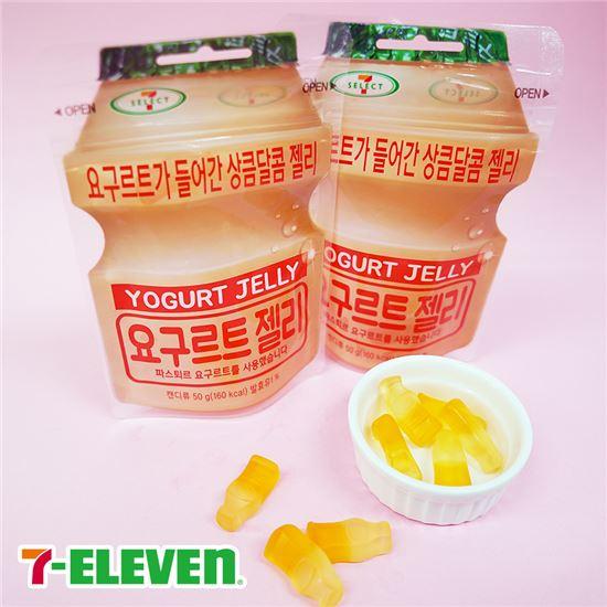 세븐일레븐 'PB요구르트젤리', 누적 판매량 100만개 돌파