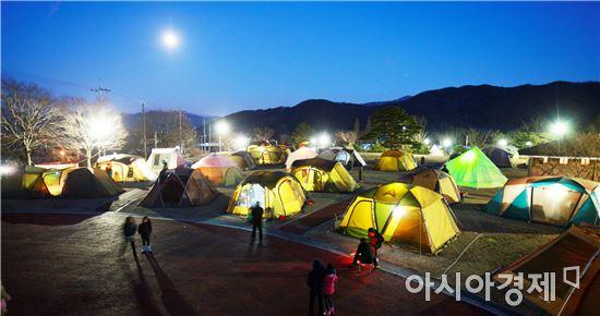 도림사 캠핑장