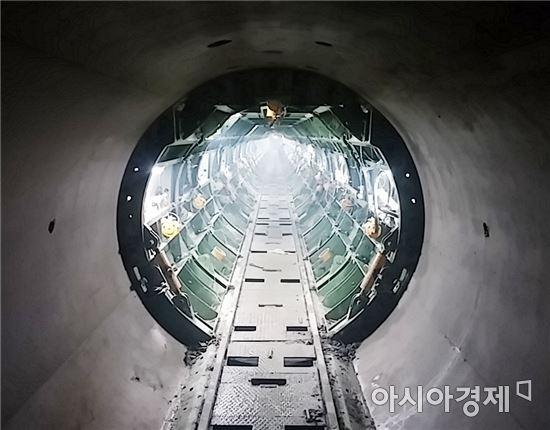 동복수원지~용연정수장 도수터널