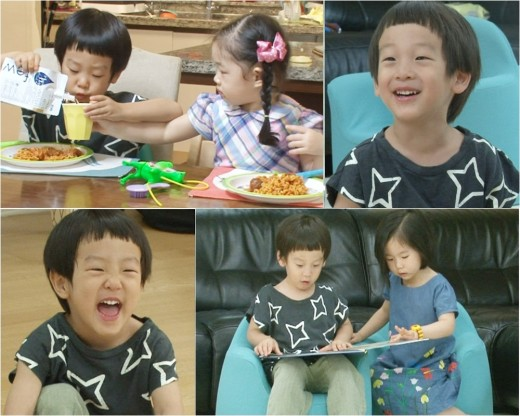 슈퍼맨이 돌아왔다 서언 서준. 사진=KBS2 '슈퍼맨이 돌아왔다' 제공