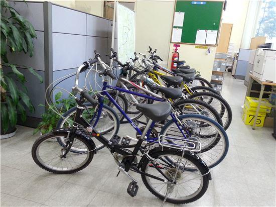 수리된 자전거