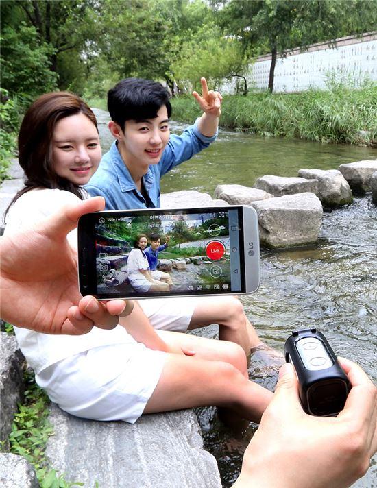 SK텔레콤, 액션캠-전용 요금제-특화앱 출시