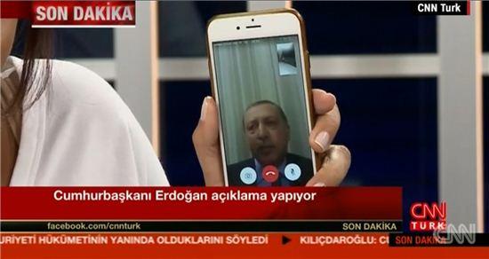 터키 에르도안 대통령 / 사진=CNN turk 방송화면 캡처