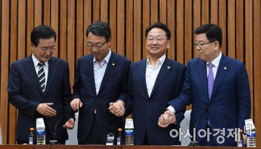 [포토]민생경제위해 손 잡은 여야정