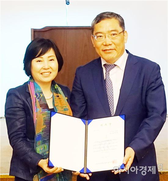 전남대병원 윤택림 병원장,한국여성경제인협회 광주지회 자문위원 위촉