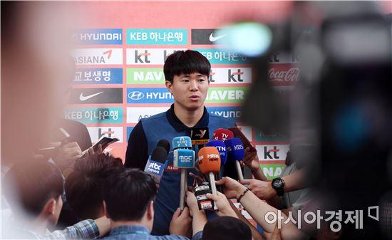 [포토]인터뷰하는 올림픽축구대표 권창훈