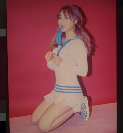허영지. 사진=허영지 인스타그램