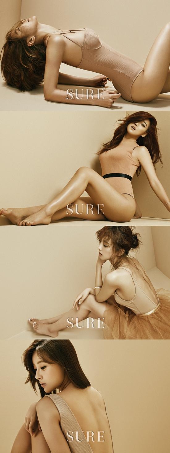 정아, 승아, 윤조, 천이슬 / 사진=슈어 제공