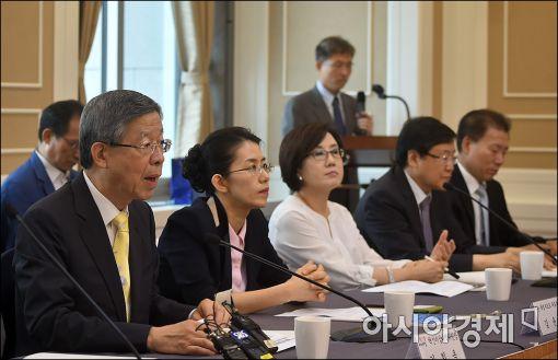 [포토]발언하는 김희옥 혁신비대위원장