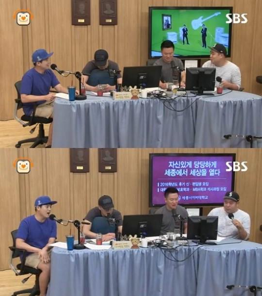 '컬투쇼' 권혁수 정찬우 김태균 문세윤 / 사진=SBS 보이는 라디오
