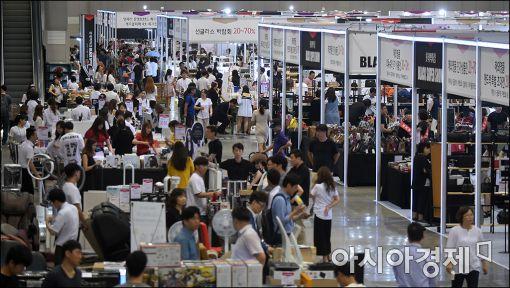 [포토]롯데백, 최대 규모의 쇼핑장