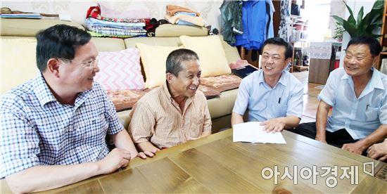 [포토]광주 동구 지원2동, 폭염 대비 취약계층 방문