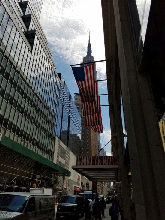 뉴욕 맨해튼.