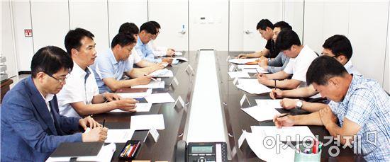 전라남도체육회, 5개 전략종목 지도자 업무협의