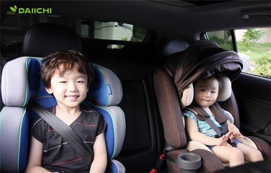 휴가철 어린이 교통사고 35%↑ …카시트 사용법
