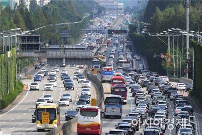 고속도로 교통상황 / 사진=아시아경제 DB