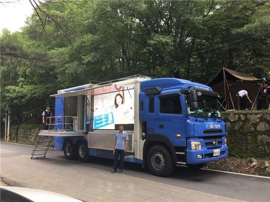3일 기업은행은 하계 휴가철을 맞아 'IBK이동점포'를 운영한다고 밝혔다. (사진 : 기업은행)