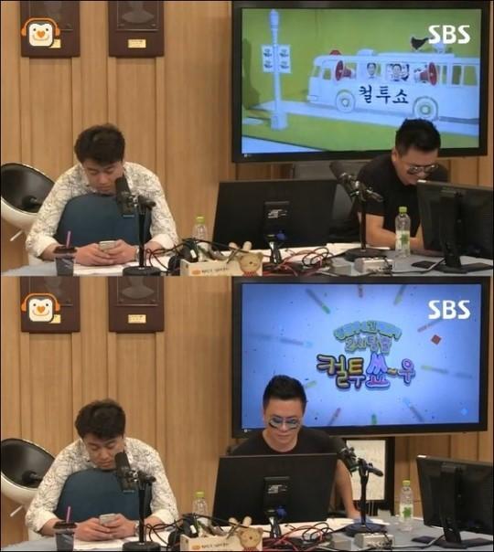 컬투쇼 김태균, 정찬우/사진=SBS 제공
