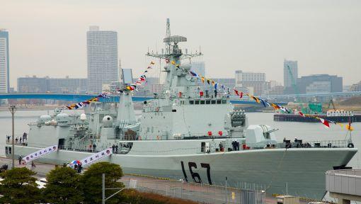 대규모 개량을 받고 있는 선전함. 사진은 과거 일본을 방문했을 때의 선전함