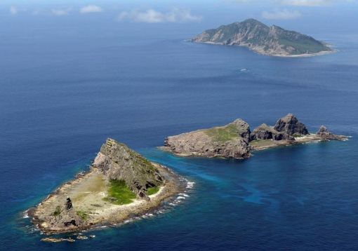 일본이 자국령이라고 주장하는 센카쿠열도의 모습