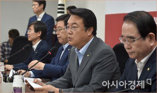 """정진석 """"북의 핵미사일, 우리 목전에 다가온 위협"""""""