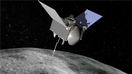 ▲소행성의 샘플을 채취해 지구로 가져오는 임무가 시작된다.[사진제공=NASA]