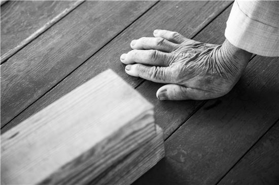 [조문환의 평사리日記]목침(木枕)