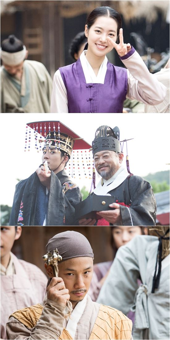 진세연 서하준 송용태 쇼리. 사진=MBC '옥중화' 제공