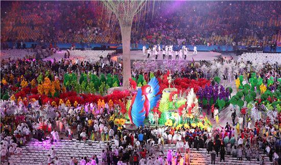 2016 리우데자네이루 올림픽폐회식. 사진=연합뉴스