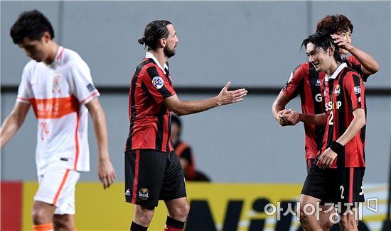 [포토]FC서울, 산둥과 1차전에서 3-1 완승
