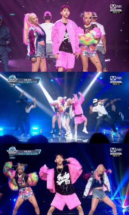사진=Mnet '엠카운트 다운' 방송화면 캡처