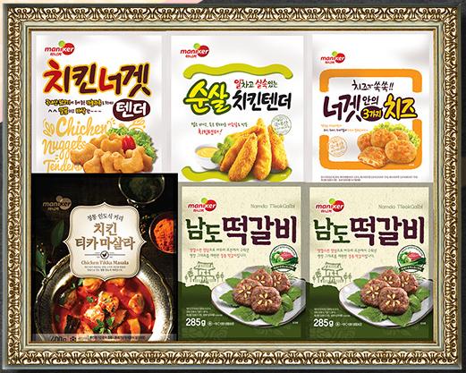 마니커·마니커에프앤지, 닭고기 가공품 추석선물세트 출시