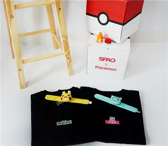 이랜드 스파오, 포켓몬 협업 상품 출시