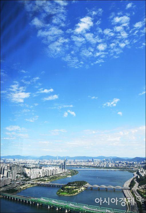 [포토]모처럼 푸른하늘
