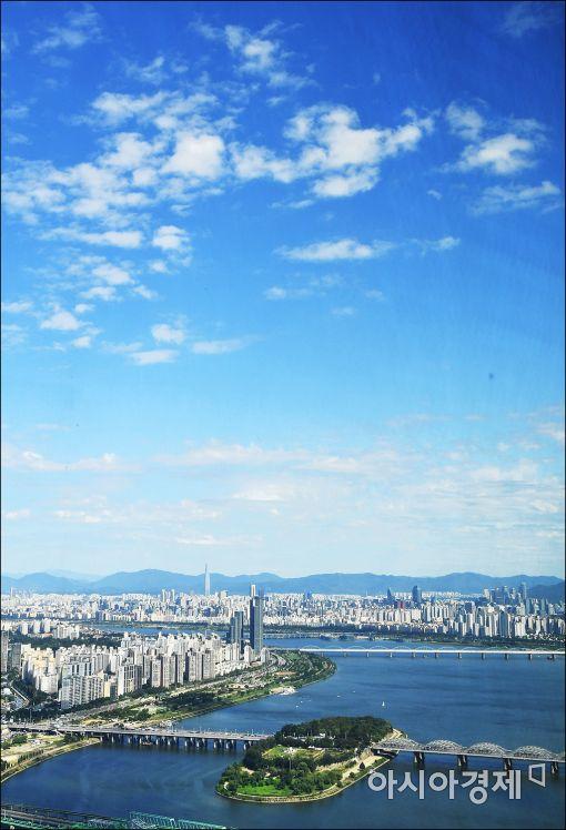 [포토]맑고 푸른 서울하늘